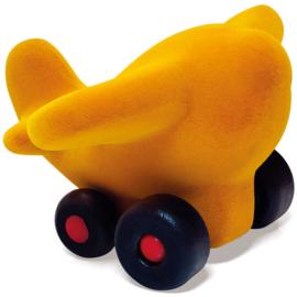 Rubbabu vliegtuig geel