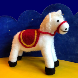 Paard sinterklaas wol