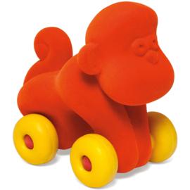 Rubbabu aap op wielen oranje