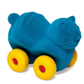 Rubbabu poes op wielen blauw