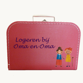 Koffertje oma en oma logeerkoffertje