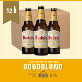 BUDELS GOUDBLOND - BOX - 12X30CL