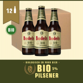 BUDELS BIO PILSENER - BOX - 12X30CL