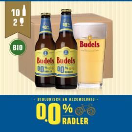 BUDELS 0.0% RADLER BIO - 10X30CL + 2GL.