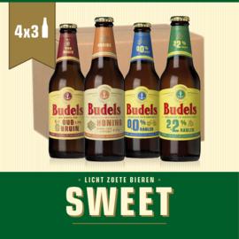 BUDELS SWEET BOX - 4X3 30CL
