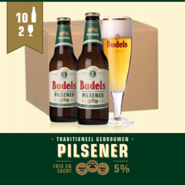 BUDELS PILSENER - 10X30CL + 2GL.