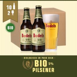 BUDELS BIO PILSENER - 10X30CL + 2GL.