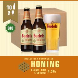 BUDELS HONING BIO - 10X30CL + 2GL.