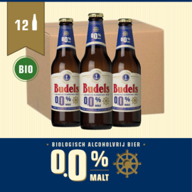 BUDELS 0.0% MALT BIO - BOX - 12X30CL