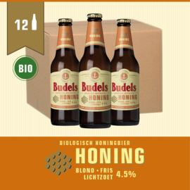 BUDELS HONING BIO - BOX - 12X30CL
