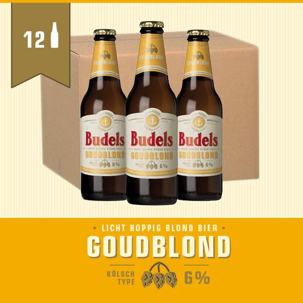 BUDELS GOUDBLOND - BOX - 12X30CL