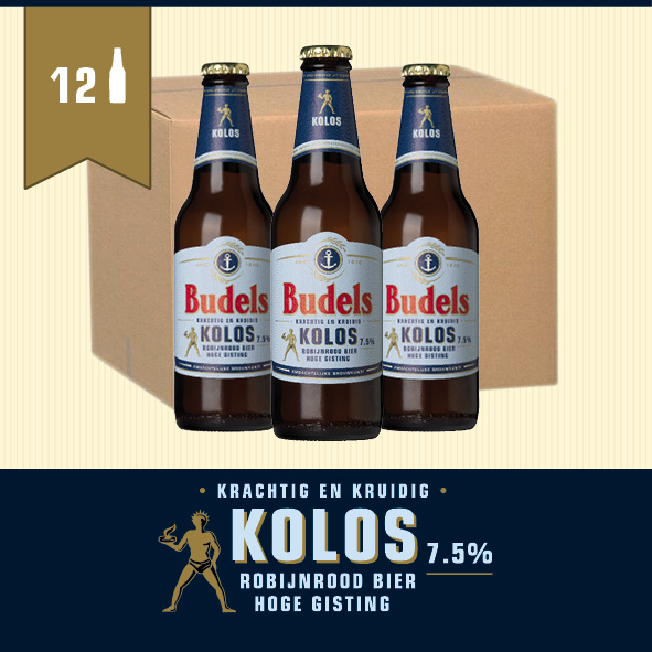 BUDELS KOLOS - BOX - 12X30CL
