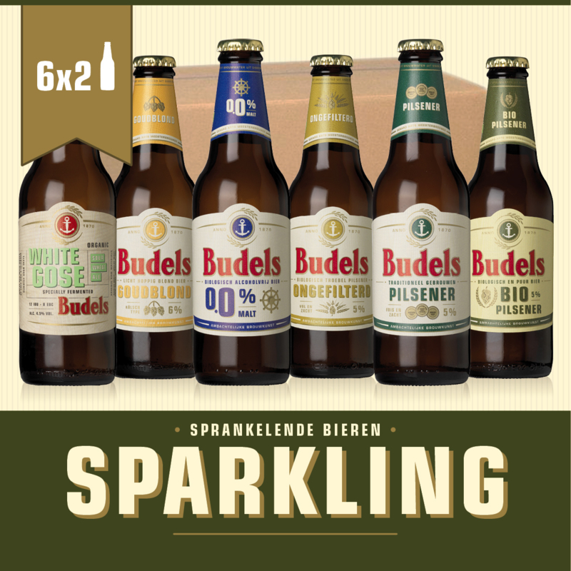 BUDELS SPARKLING BOX - 6X2 30CL