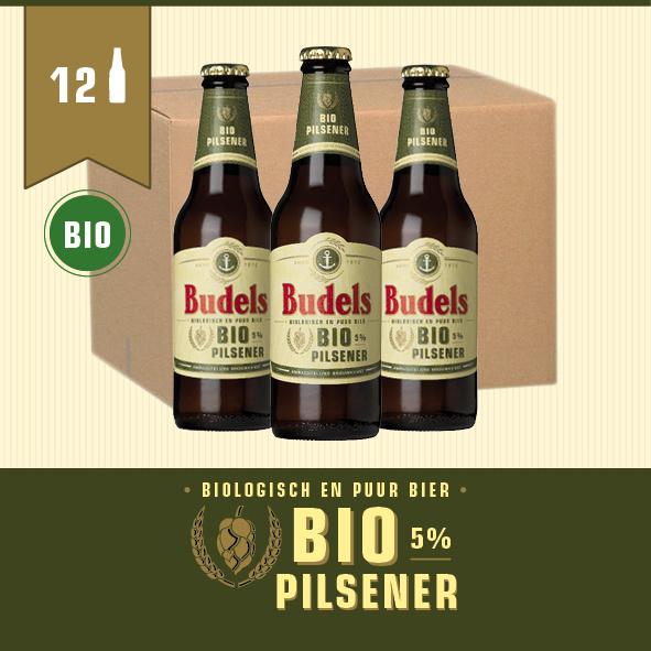 BUDELS BIO PILSENER - BOX - 12X30CL