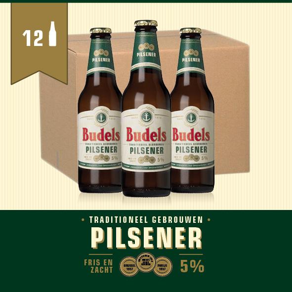BUDELS PILSENER - BOX - 12X30CL