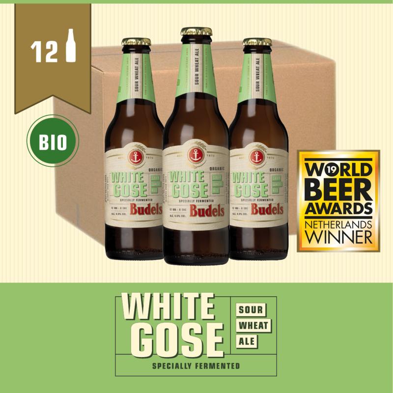 BUDELS WHITE GOSE BIO - BOX - 12X30CL