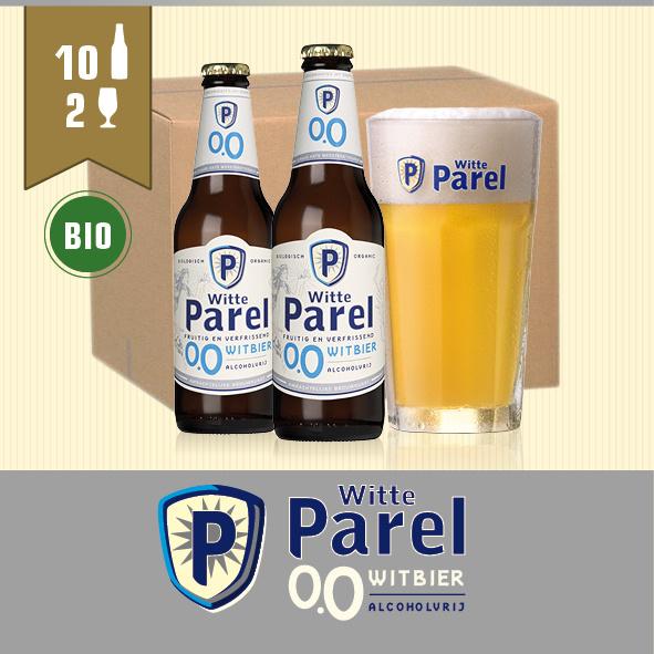 WITTE PAREL ALCOHOLVRIJ - 10X30CL + 2GL.