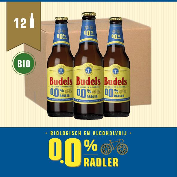 BUDELS 0.0% RADLER BIO - BOX - 12X30CL