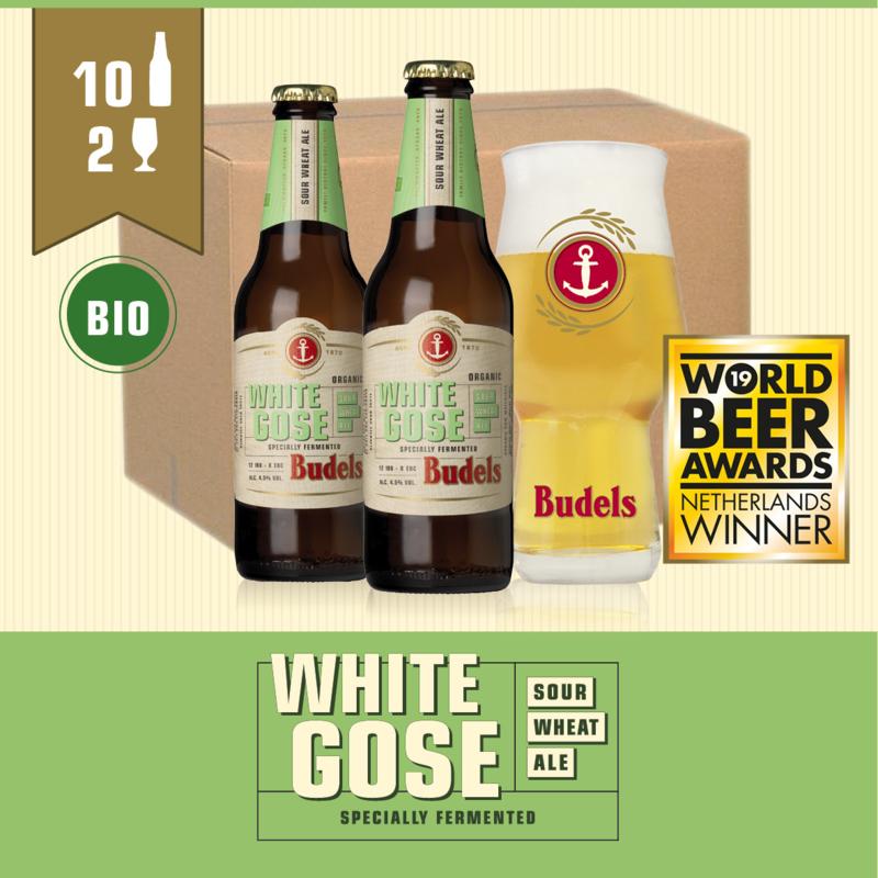 BUDELS WHITE GOSE BIO - 10X30CL + 2GL.