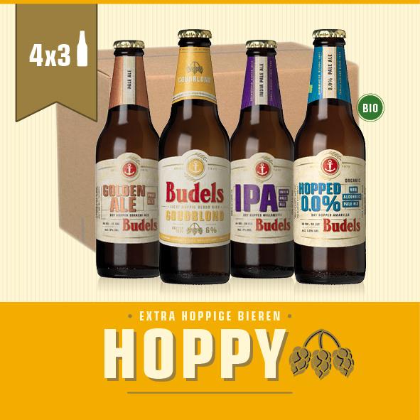 BUDELS HOPPY BOX  - 4X3 30CL