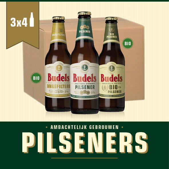 BUDELS PILSENERS BOX - 3X4 30CL