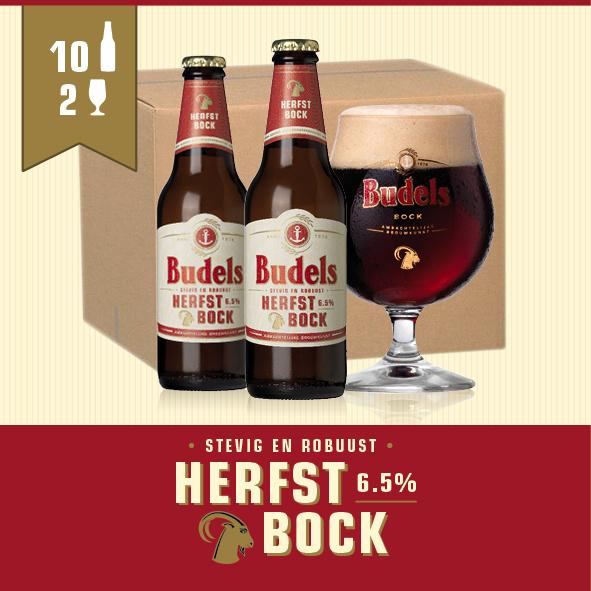 BUDELS HERFSTBOCK - 10X30CL + 2GL.