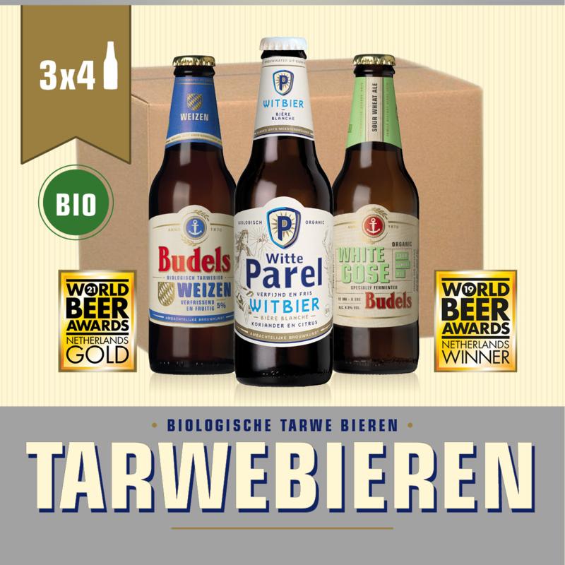 BUDELS TARWEBIEREN BOX BIO - 3X4 30CL