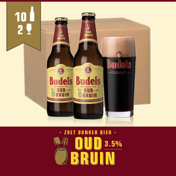 BUDELS OUD BRUIN - 10X30CL + 2 GL