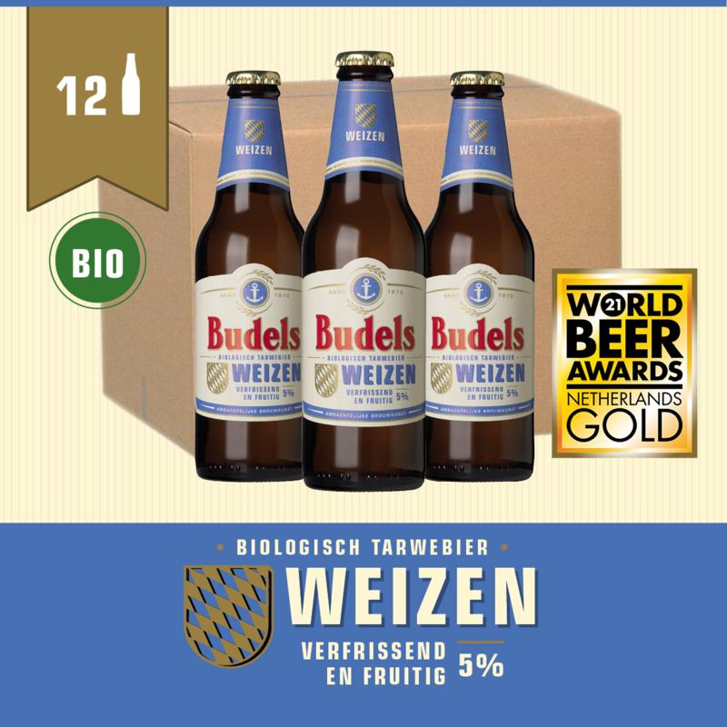 BUDELS WEIZEN BIO - BOX - 12X30CL