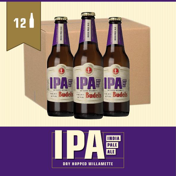 BUDELS IPA - BOX - 12X30CL