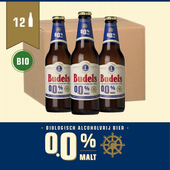 BUDELS 0.0% MALT BIO - BOX - 12X30CL