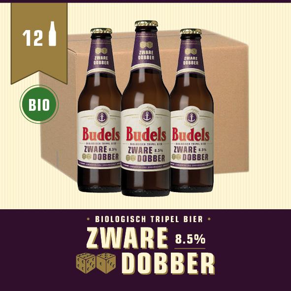 BUDELS ZWARE DOBBER BIO - BOX - 12X30CL