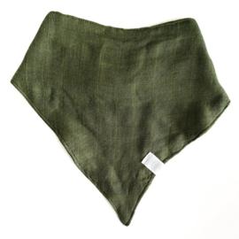 Kwijlslabbetje Moss Green - MaeMae