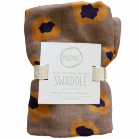 Swaddle Leopard - MaeMae