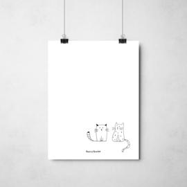 Cats | A4 - per 3 stuks
