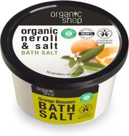Organic Shop Bath Salt Orangeblossom.