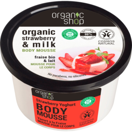 Organic Shop Body Mousse Strawberry