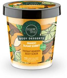 Organic Shop Body Desserts Mango Sugar Sorbet body scrub
