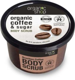 Organic Shop Body scrub Coffee