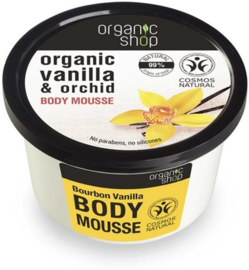 Organic Shop Body Mousse Vanille