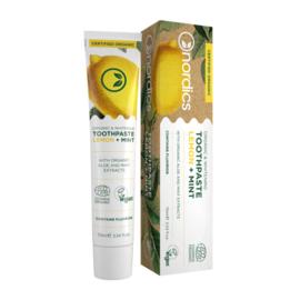 Nordics Toothpaste Lemon Mint BIO 75ml