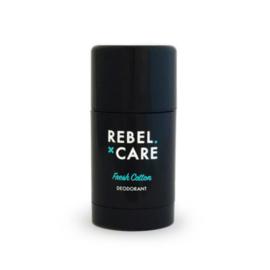 Loveli Deodorant Rebel Care Fresh Cotton- voor hem