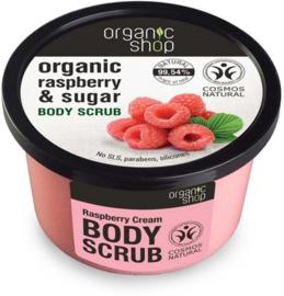 Organic Shop Body scrub Raspberry