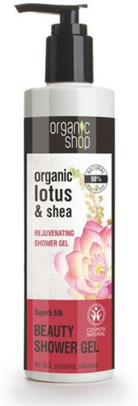 Organic Shop douchegel Lotus