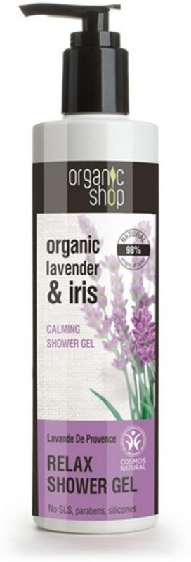 Organic Shop douchegel Lavendel