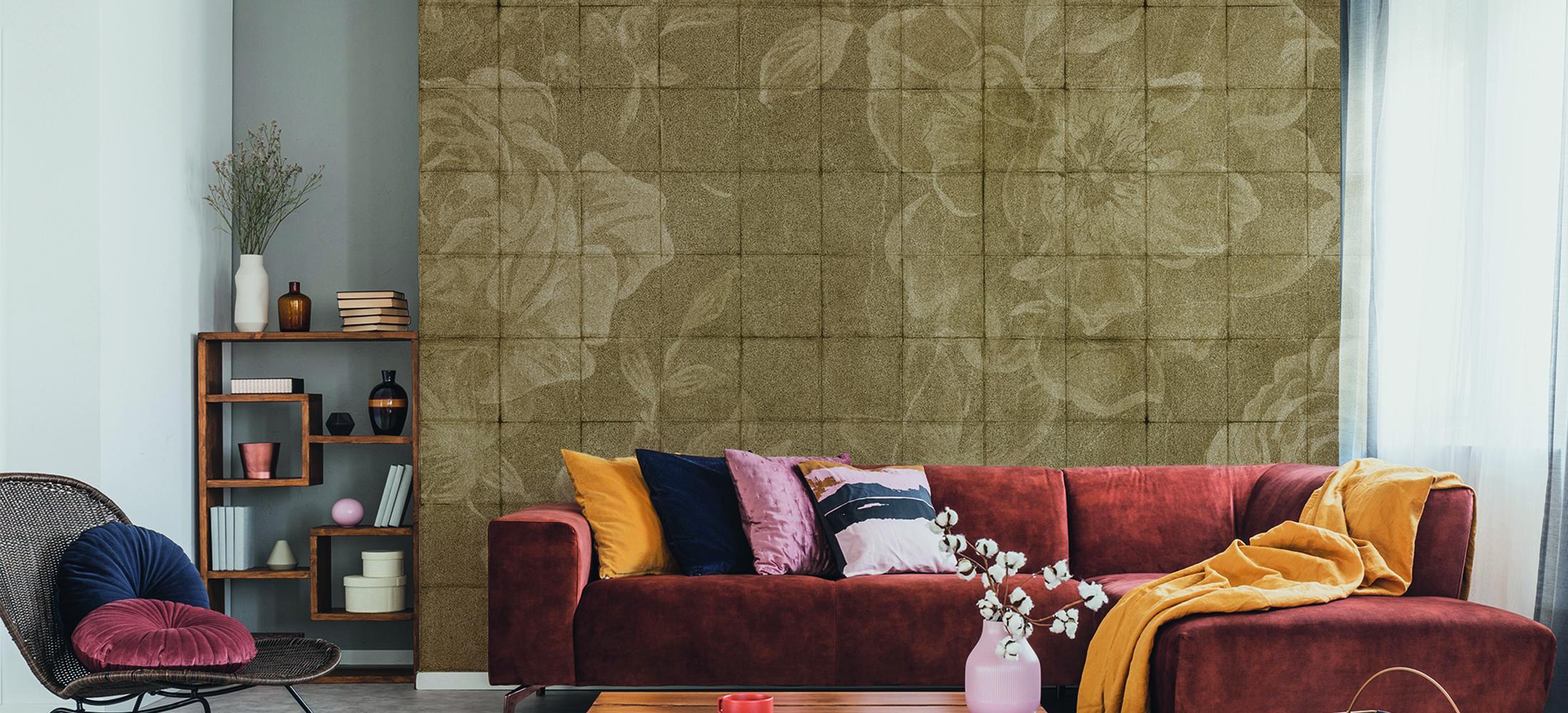 floral tiles slideshow