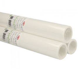 Patroonpapier blanco rol 10m