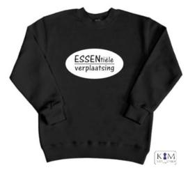 Kinder sweater 'ESSENtiële verplaatsing'