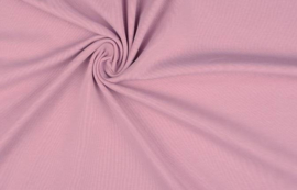 Cotton jersey poeder roze