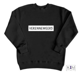 Kinder sweater 'verenneweerd'